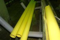 Этап производства канализационных труб ПВХ